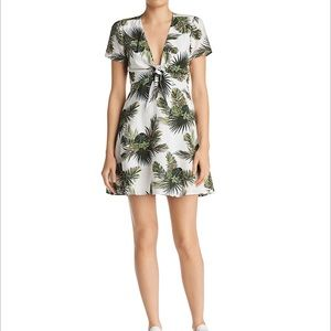 Re:Named Paradise Tropical Print Dress